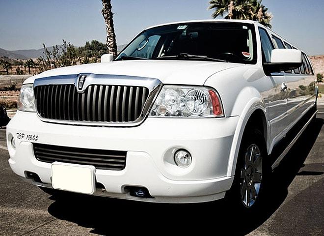 Stretch SUV limo in San Bernardino