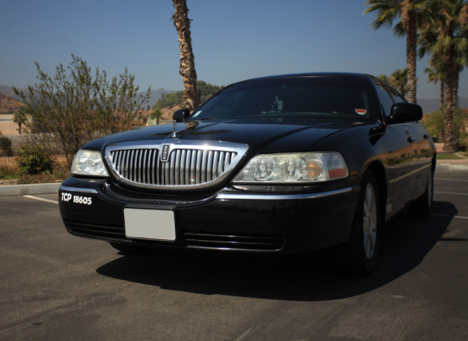 Sedan Limo in San Bernardino, California