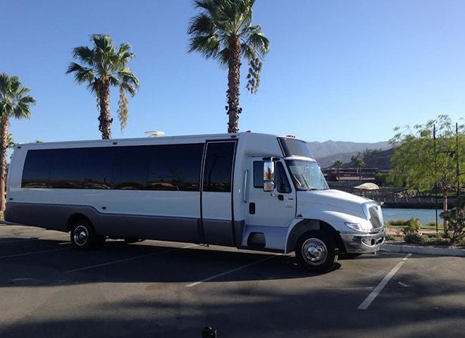 Luxury Party Bus Services in San Bernardino