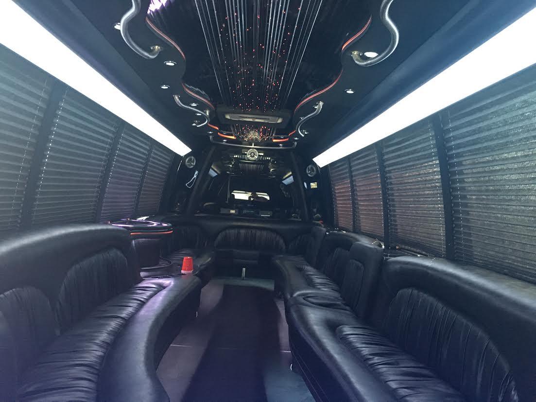 Luxury Party Bus Rental in San Bernardino