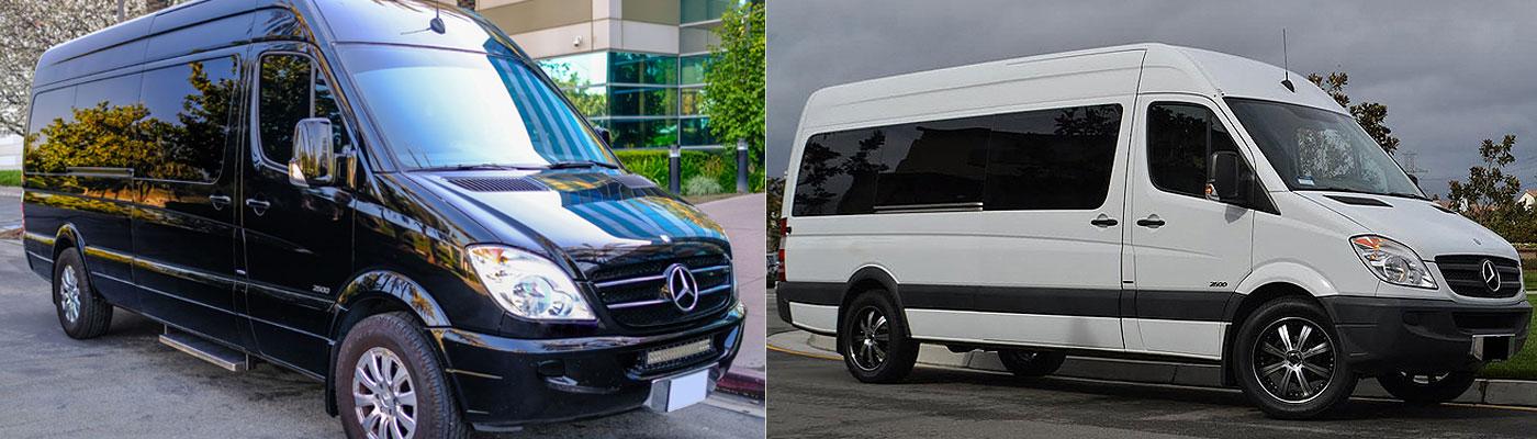 Mercedes Sprinter Limousine Coach Service San Bernardino