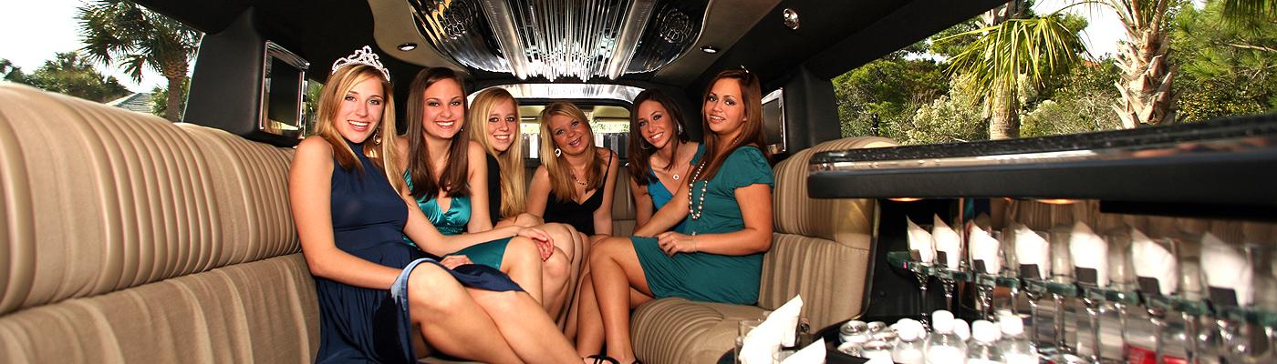 Luxury Bachelor Party Bus Limousine Service San Bernardino